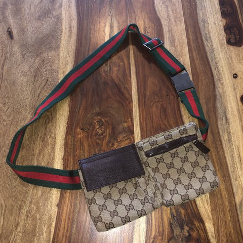 b65123d7e44f @marcelaac. last year. Sutton Coldfield, United Kingdom. Gucci belt bag  100% authentic. Great condition ...