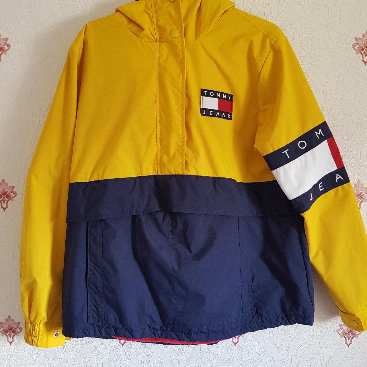 90S Colorblock Pullover Jacket, Tommy Jeans