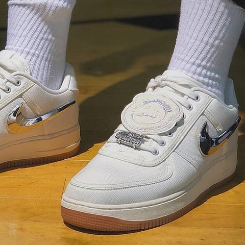buy online 3b111 89606  snshll. 3 months ago. Liverpool, United Kingdom. Travis Scott Nike Air  Force 1 ...