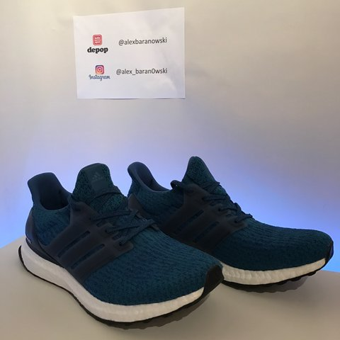 a734cd912534a Adidas ultra boost 3.0 Royal blue UK 9 9 10 condition Only - Depop