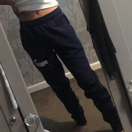 Small women's Puma grey tracksuit. Great condition. Depop