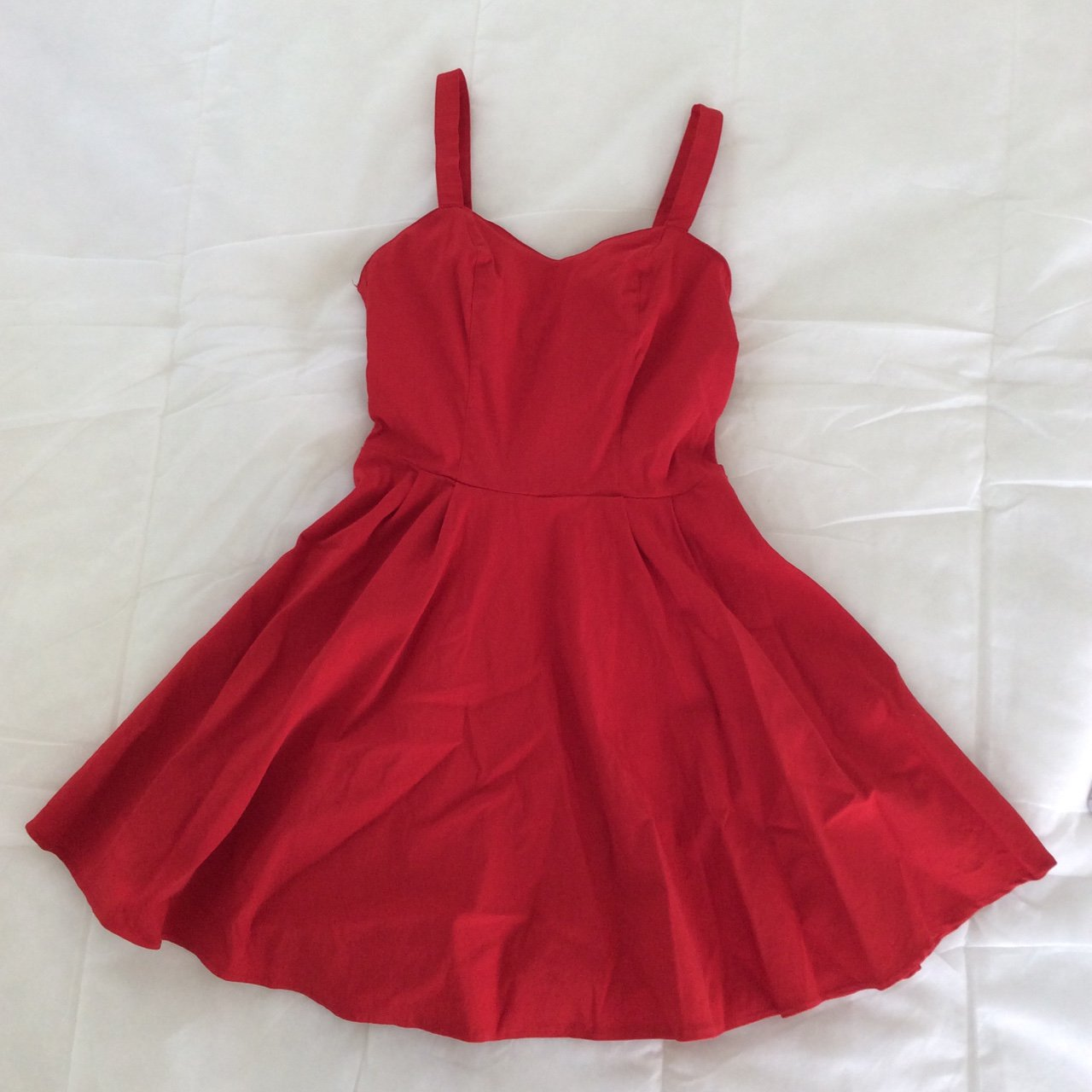 941a4bc0f2 ASOS skater dress. Only wore once! Very flattering. Size 8 - Depop