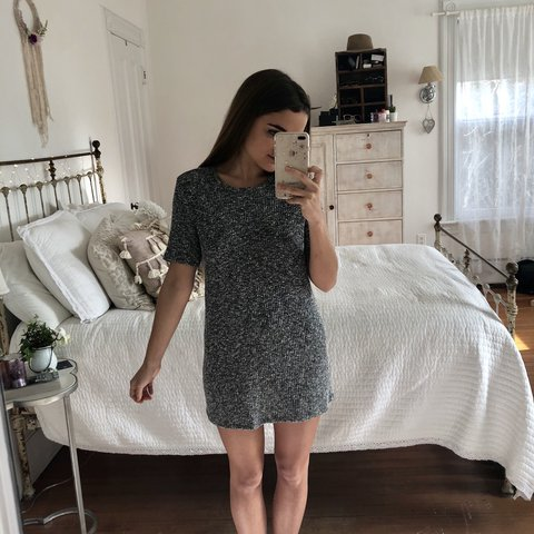 50ef3a33a03 Forever 21 Sweater Dress (size large ~ supposed to be a - Depop