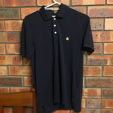4ee7ab1f4d2 Authentic Brooks Brothers Polo. Dark Blue   Navy. Medium to - Depop