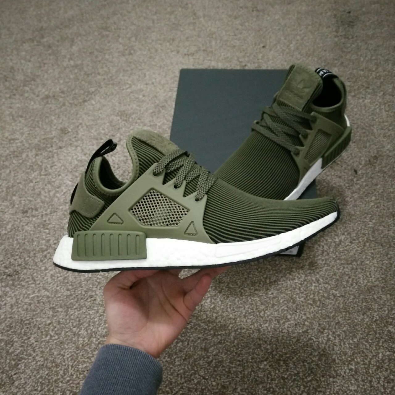 new products 55573 d6e05 ADIDAS NMD XR1 PK in a RARE OLIVE GREEN... - Depop