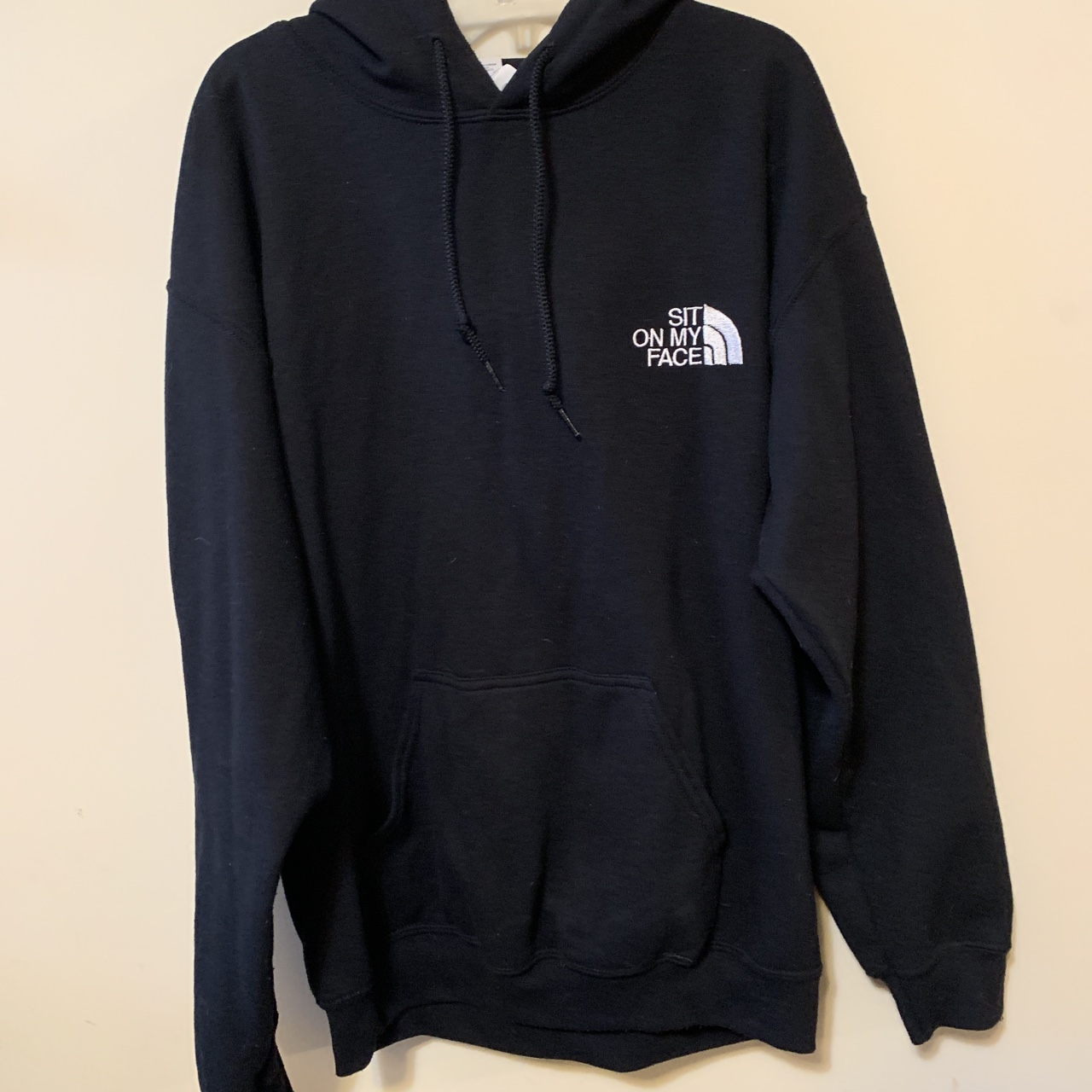 """b2a9e30c6 The North Face Like """"sit on my face"""" Hoodie! 🖤🥴 ... - Depop"""