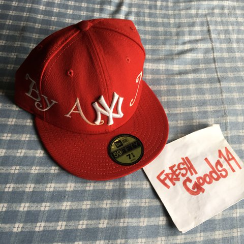 c9cd2b8a5602c Supreme X New Era By Any Means Fitted Hat OPEN TO ALL to x - Depop