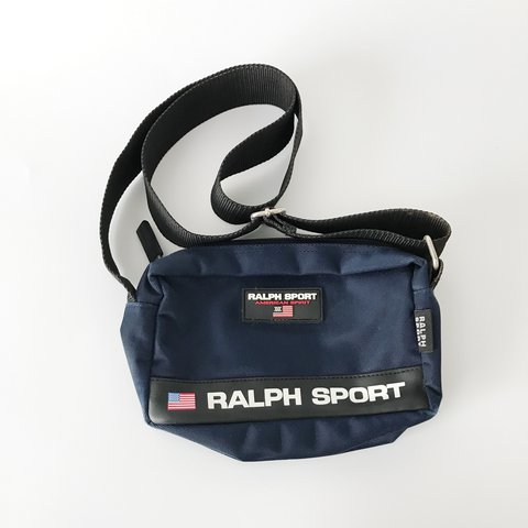 717892024b Bootleg Ralph Lauren Polo Sport bag   shoulder bag Sold  as - Depop