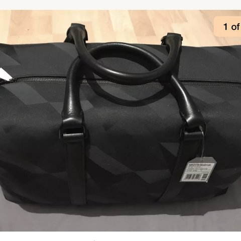 e4d6519873 ... real mulberry clipper dazzle camo canvas holdall bag retail new a depop  3c06c 87e63