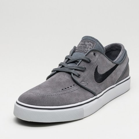 d82543850689 Nike SB Zoom Stefan Janoski (Dark Grey   Black - Pure - Worn - Depop