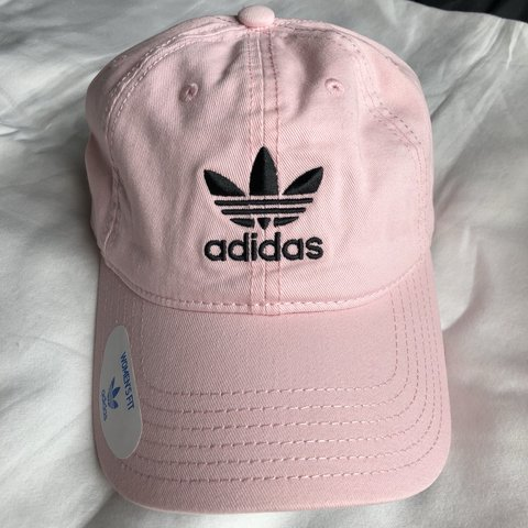 83aa797312fd5 light pink adidas originals hat • this hat is brand new - Depop