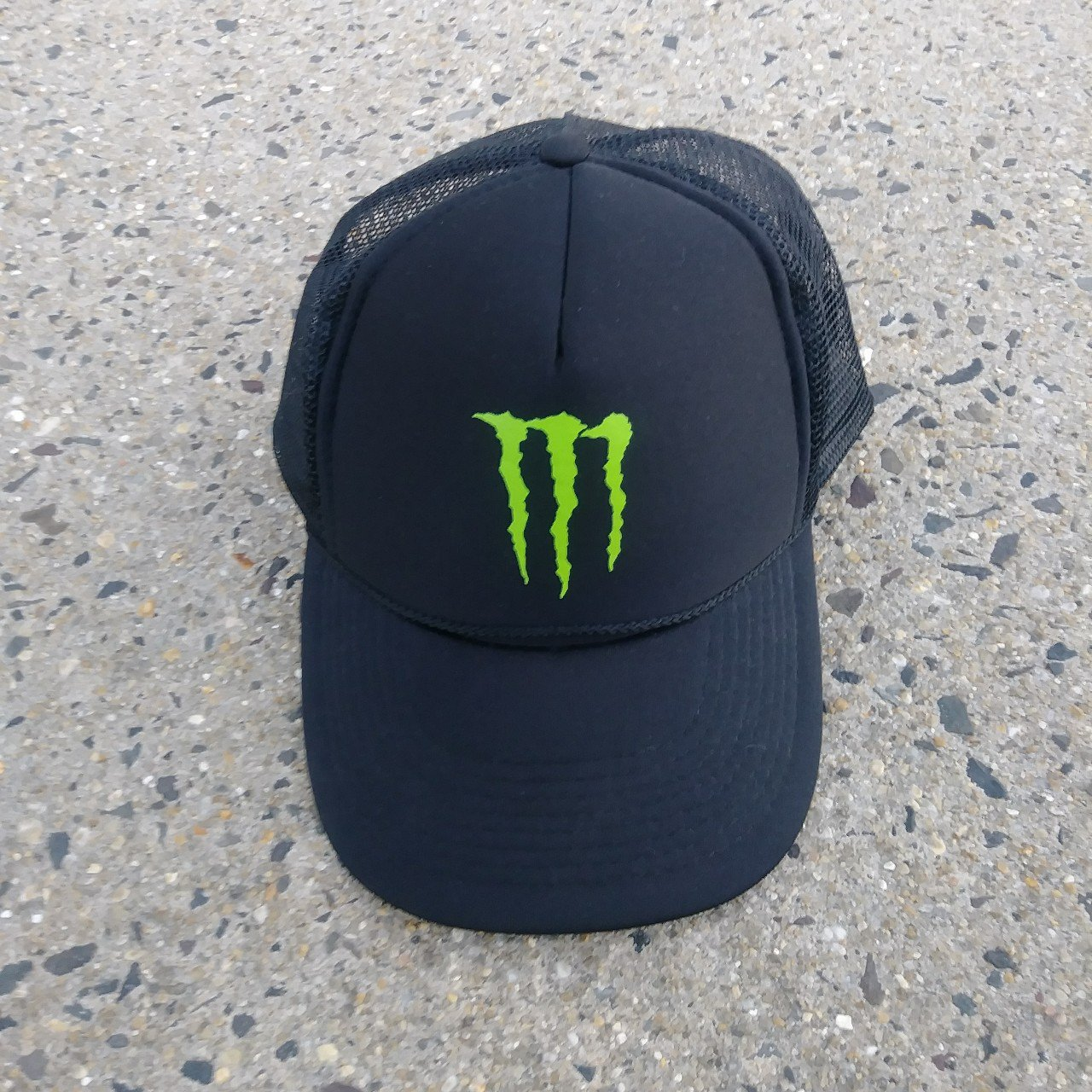 CLASSIC MONSTER ENERGY DRINK TRUCKER CAP ONE SIZE FITS ALL - Depop b4973cd41f8