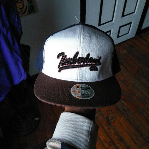 beadbb1d Throwback Timberland fitted hat men size 7 and 3/4 in new - Depop