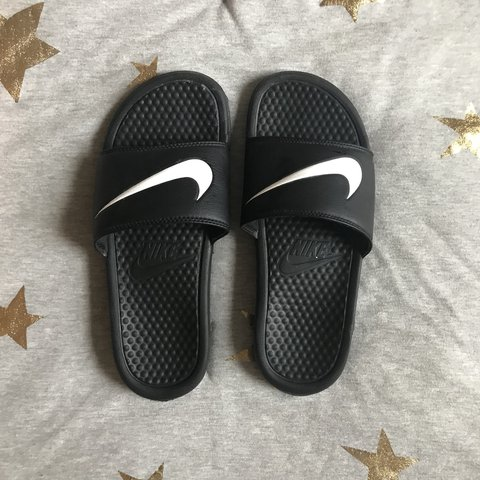 bd50d54b7f60 Nike Benassi Swoosh slide sandals from circa 2005 Condition  - Depop