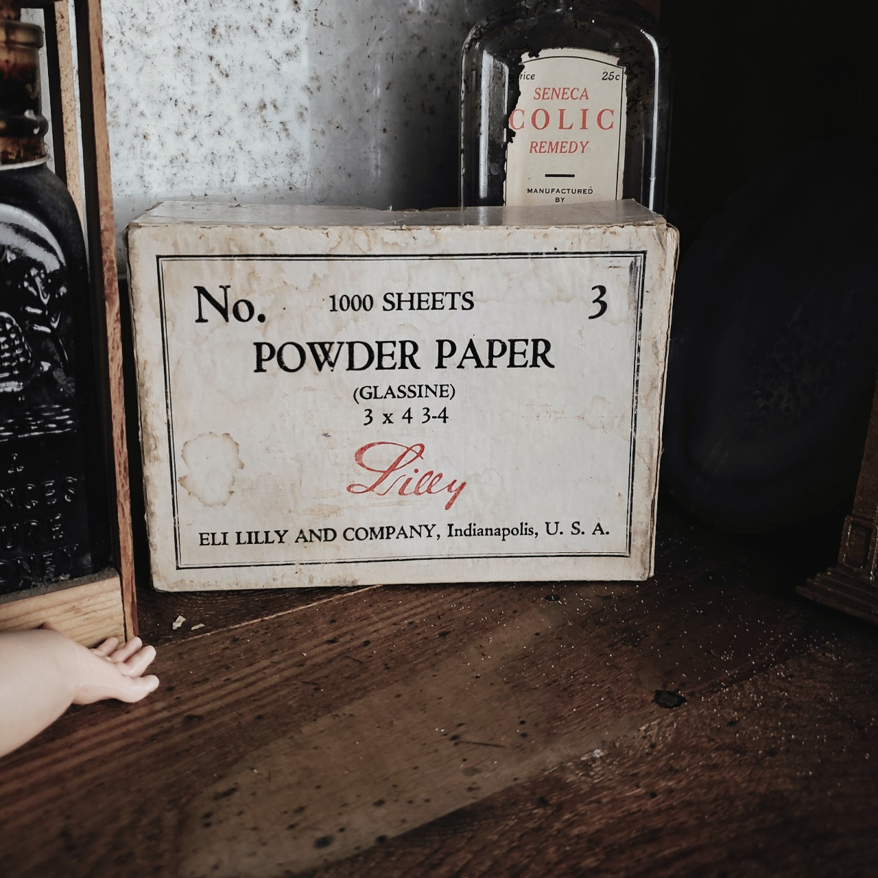Eli Lilly and Company Glassine Powder Paper! This is    - Depop