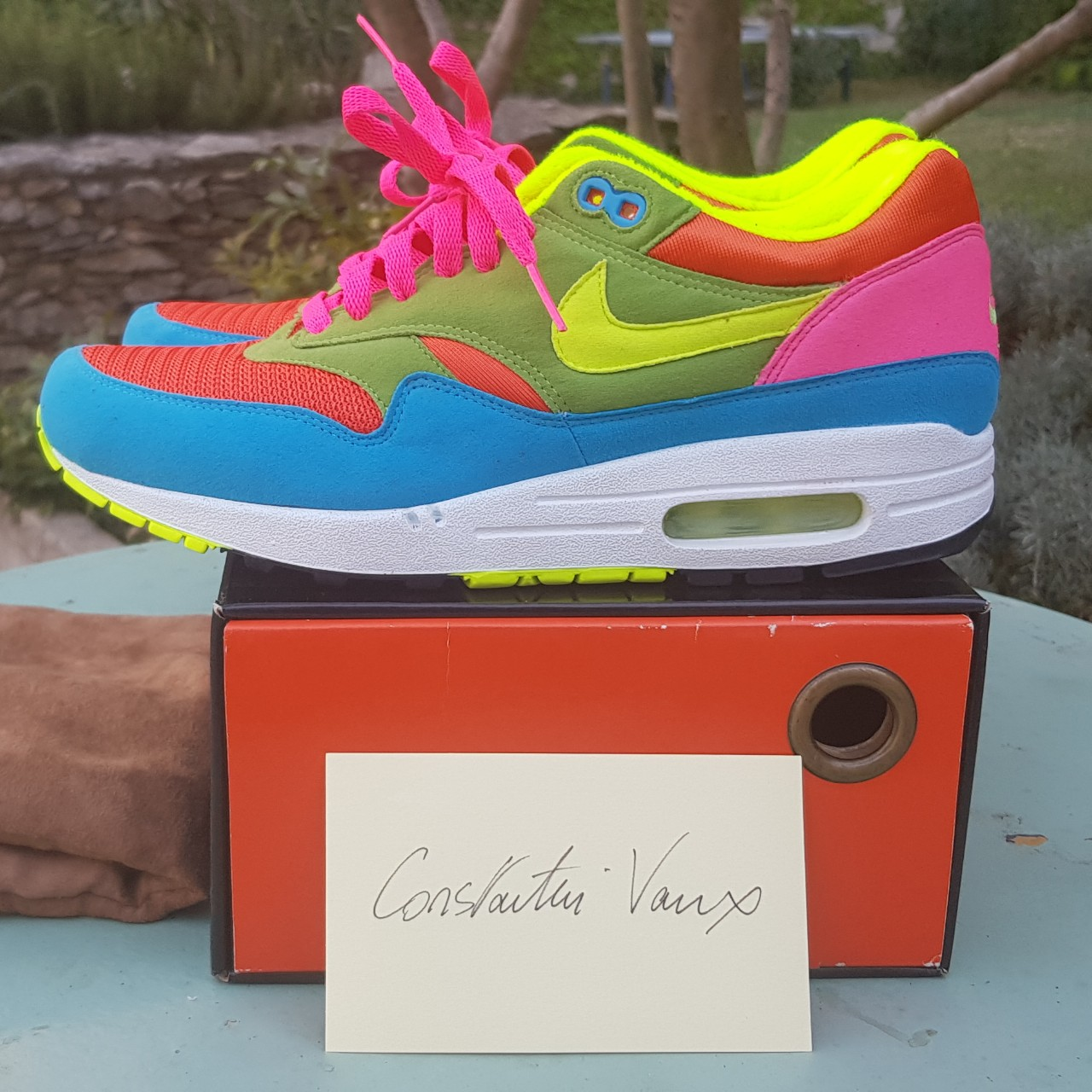Nike air max 1 id wtf from 2006, 8 us