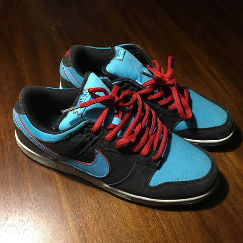 new concept 22061 d3bdc 2008 nike sb angels and devil dunk low. in excellent the is - Depop nike
