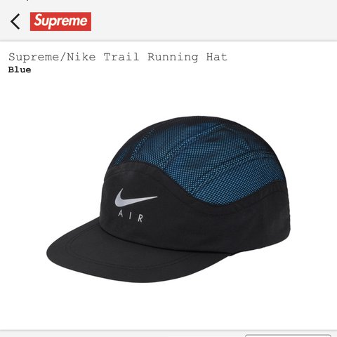 92d077181c5db Supreme x Nike Trail Runner Hat Deadstock never offers
