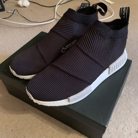 ee183a5588047 Adidas NMD gore tex UK9.5 Condition 9 10 With og box - Depop