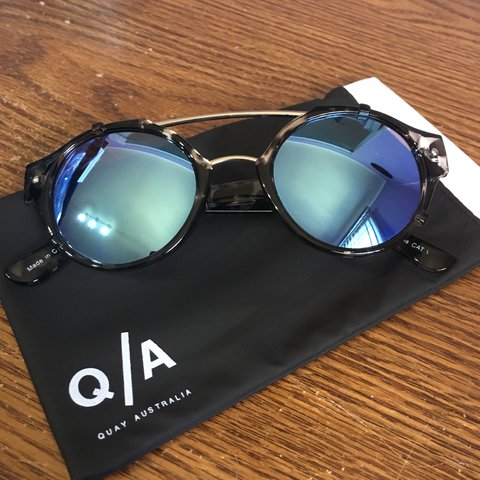 26f2f05bed 🔹IT S A SIN sunglasses from QUAY AUSTRALIA. 🔹Round brow a - Depop