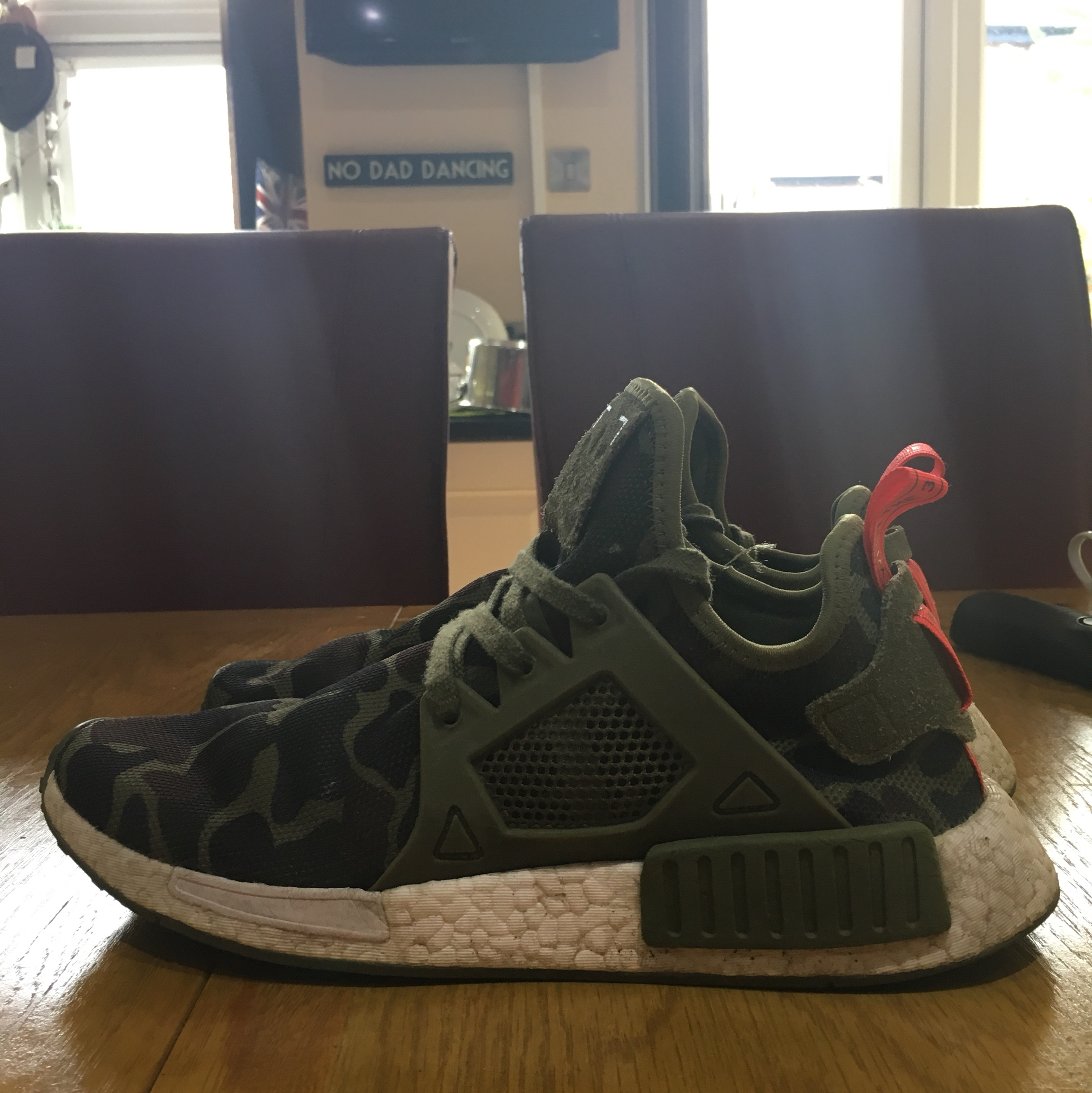 the best attitude 5da4a bcde4 ADIDAS NMD RX1 DUCK CAMO SLIGHTLY DIRTY BUT CAN... - Depop