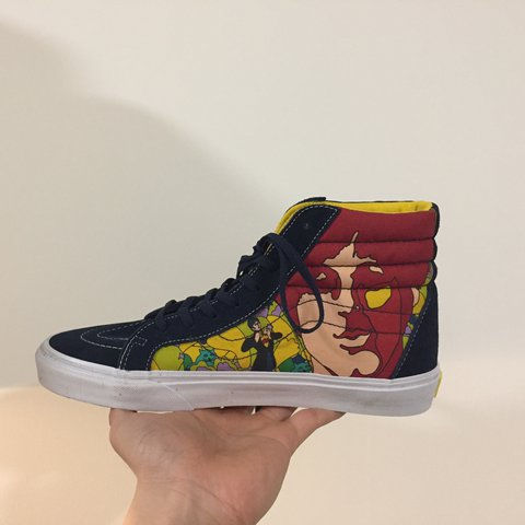 8c5a6a4909 The Beatles yellow submarine by vans   supreme condition new - Depop