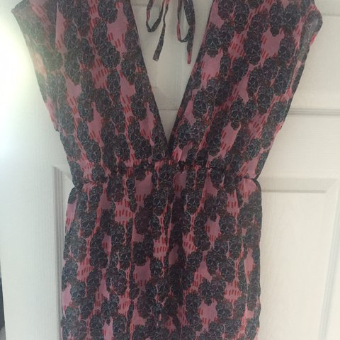 fb06846136 Boohoo printed pink Kaftan Never worn- without tags Size 8 a - Depop
