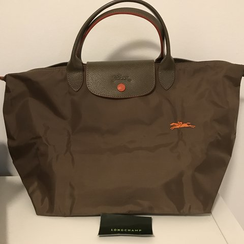 923813cc0a87 BRAND NEW - Longchamp Le Pliage Club Bag - Top Handle M - - Depop