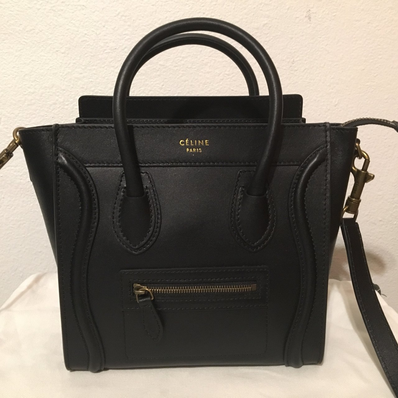 a4b1fd43fcab 100% authentic Celine Nano! This stylish small tote is of a - Depop