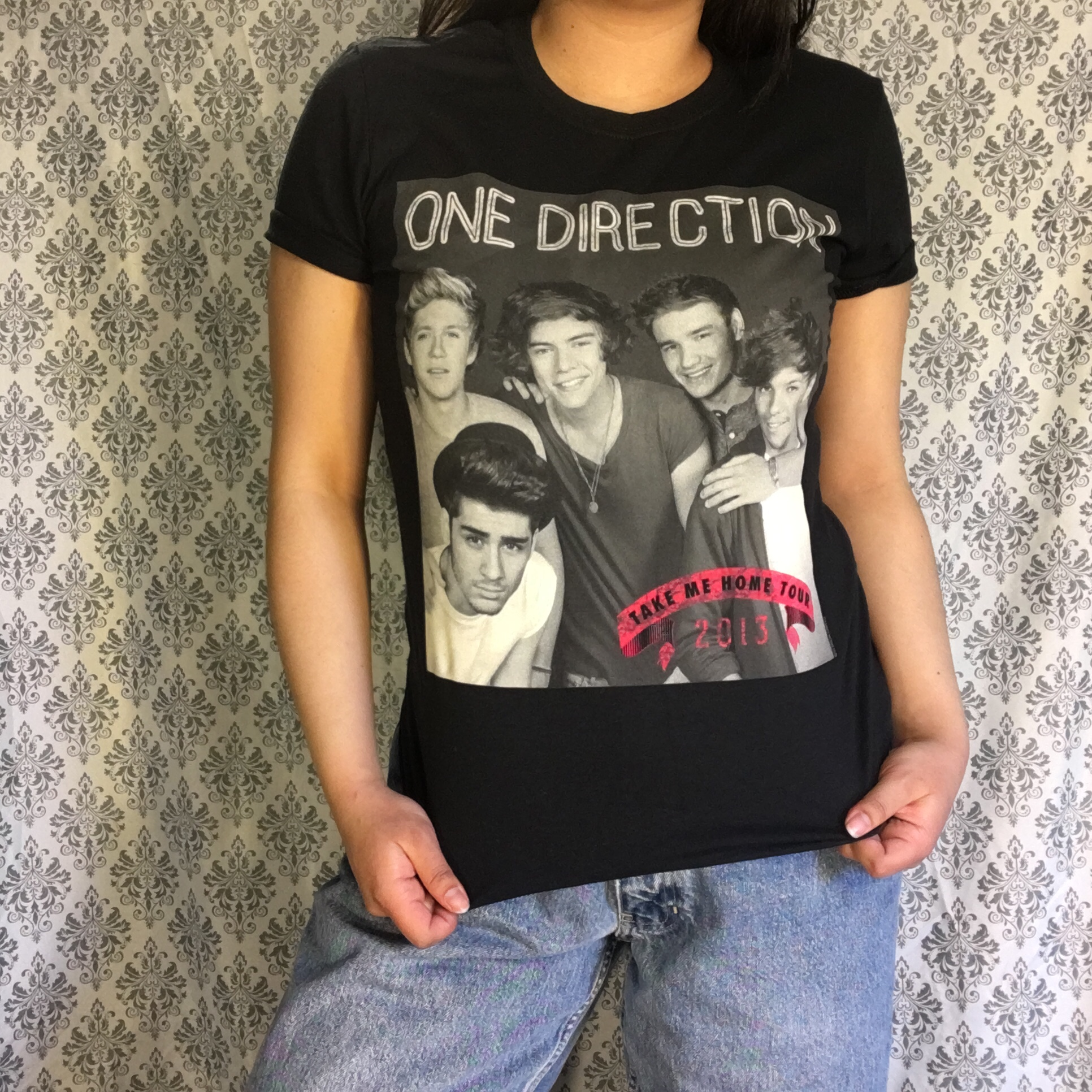 One Direction Official Tour Merch T Shirt From The Depop