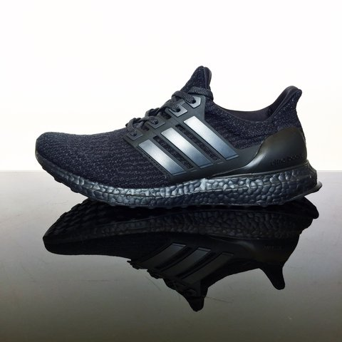 9c5a5011b8964 Adidas Ultra Boost Ultraboost Triple Black 3.0 not 2.0 in - Depop