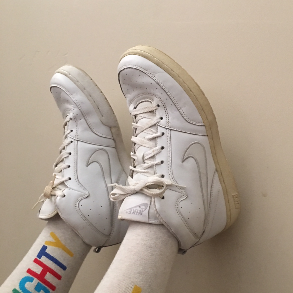 Vintage Nike basketball shoes. These