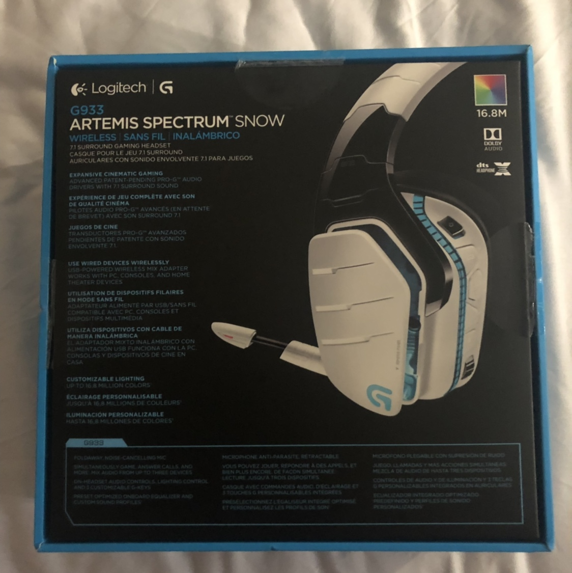 Logitech G933 wireless gaming headset Works for    - Depop