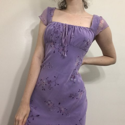 02edf4cb453 The sought out beautiful LILAC summer dress!!! Total Y2k a - Depop