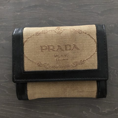 f59d7498bc39fc Used vintage PRADA wallet. Look ok from outside,from inside - Depop