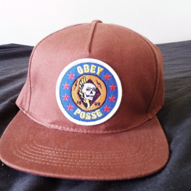 Obey SnapBack  retro  hat  cap  hipster  offers - Depop 85a18d850b40