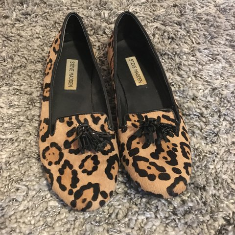 be133503be5 You need these leopard print Steve Madden shoes in your pony - Depop