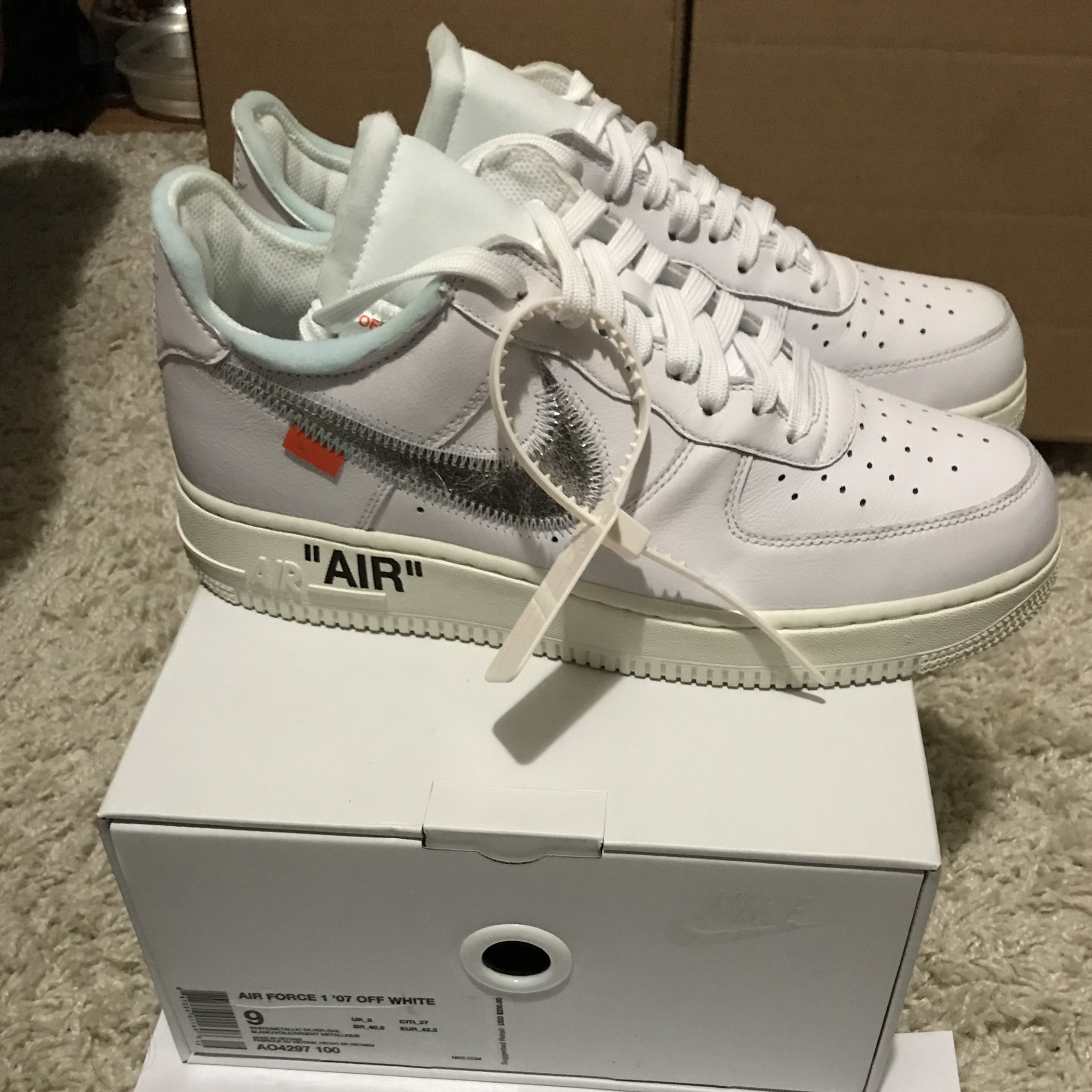 Air Depop White X Force 1 Complexcon Nike Off 0v8nONmw
