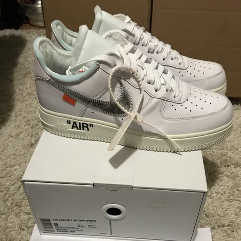 bc5bf44064fa72 OFF-WHITE x NIKE x COMPLEXCON AIR FORCE 1 EXCLUSIVE! SOLD - Depop