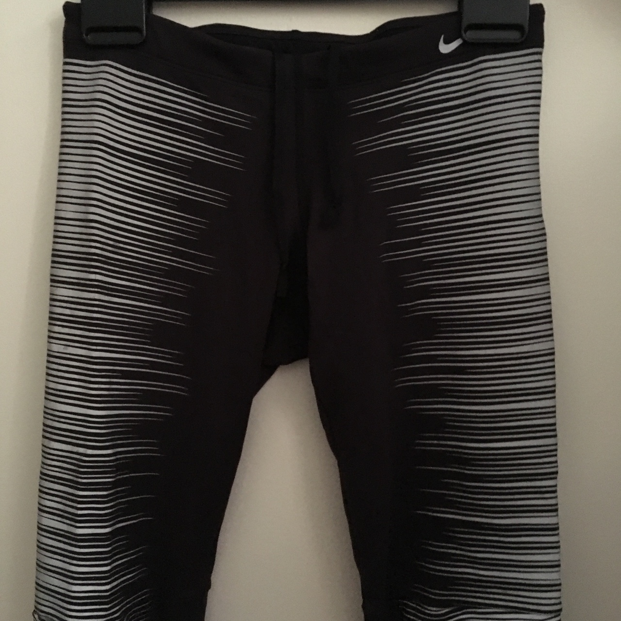 available popular stores 100% genuine Nike glow in the dark leggings, size S. bought for... - Depop