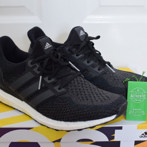 6de4cab8ca0 Adidas Ultra Boost 2.0 Core Black UK11.5 Purchased on Worn - Depop