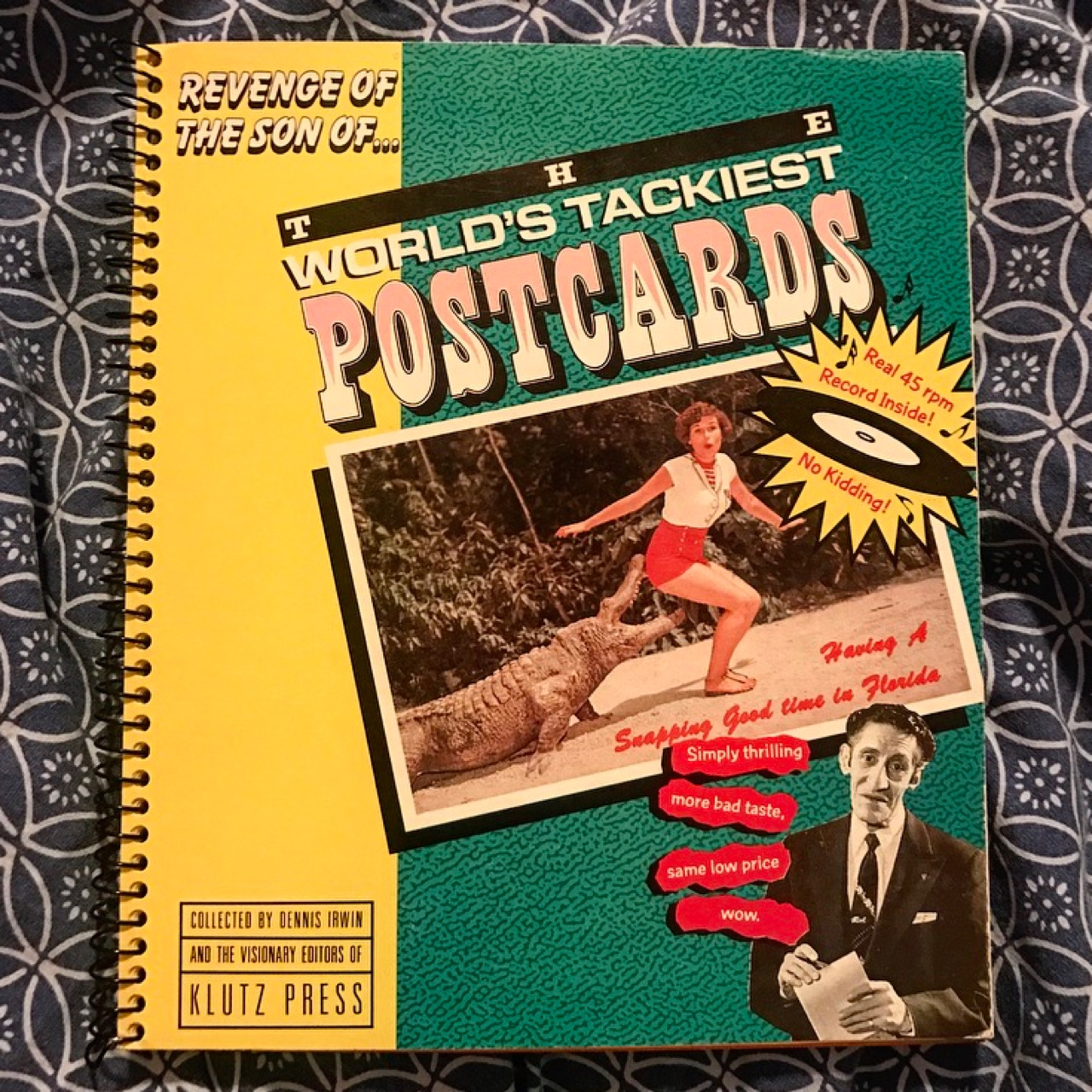 The World's Tackiest Postcards  Literally! None of    - Depop