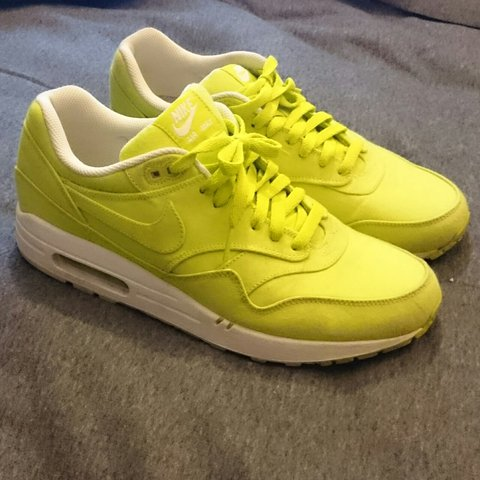 super popular cb702 9eec7  becky209. 2 years ago. Leeds, United Kingdom. Neon yellow Nike Air Max 1s