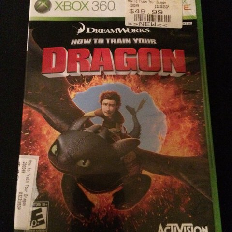 Xbox360 how to train your dragon in good condition dragon depop ccuart Choice Image