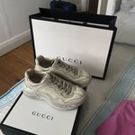 f768eb98441 WTS Gucci Rhyton leather sneaker Bought in