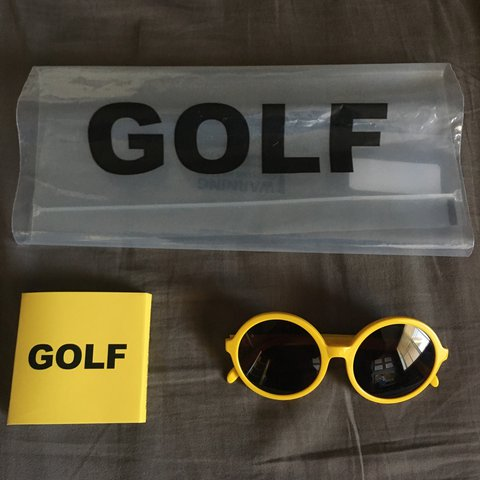 c484b1f02a22 Golf Wang sunglasses flawless condition