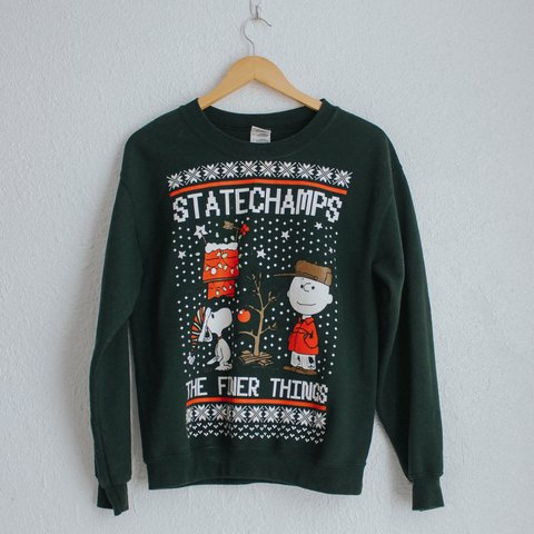 State Champs Charlie Brown 2013 The Finer Things Ugly Only Depop
