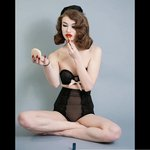 b38c0916f Print from my modern pin up shoot with lauren brodzik! pinup - Depop