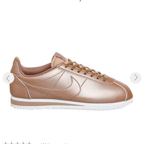 de3676602582 Rose gold Nike Cortez never worn still in the box bought for - Depop
