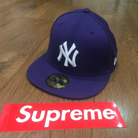NY New York Yankees 59 50 Fifty nine Fifty cap Purple and JD - Depop c87923511e1